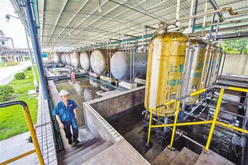 不让一滴工业污水流入长江
