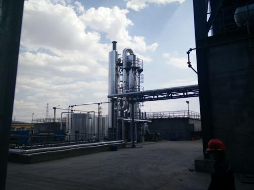 河北廊坊某企业废水处理装置安装调试完成