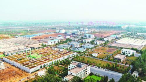 安徽小仓房污水处理厂正式通水