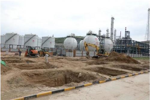 延长炼化轻烃项目废水零排放装置加快建设