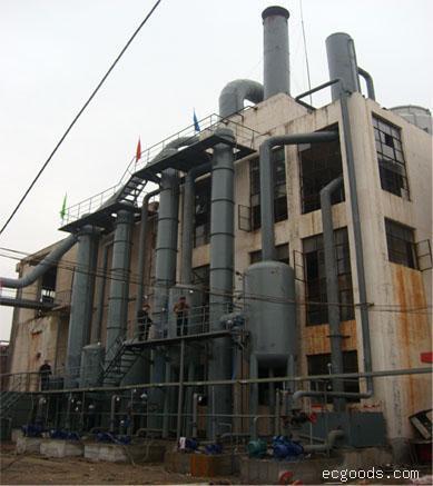 浆粕黑液多效节能蒸发器