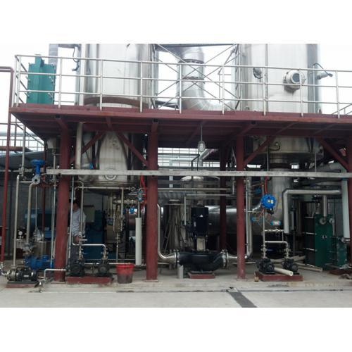 MVR管式蒸发器结晶器 蒸汽机械压缩蒸发器 节能蒸发结晶器