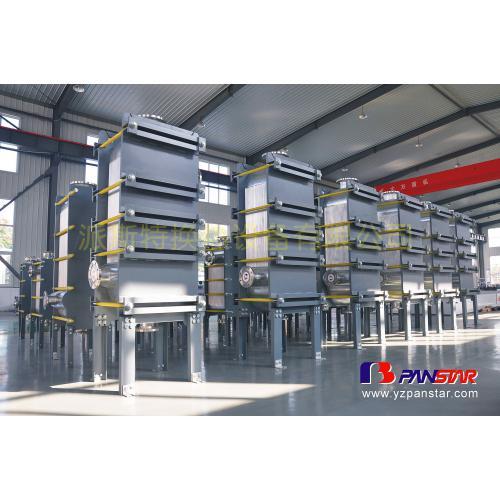 MVR系统特殊介质的全焊换热器